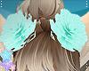 m| Calico *Hair Flowers