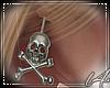 [L4] Skull Earrings