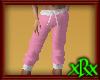 Capri Sweat Pants Pink