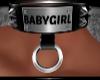 BABY GIRL COLLAR
