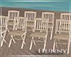 H. Beach Wedding Chairs