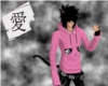 KS- Pink Kowai Hoody