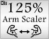 Scaler Arm 125%