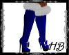 Blue Santa Boots