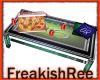 derivable pizza table