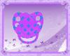 kids puffy paci purple