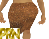 *PRN*Brown Sparkle Skirt