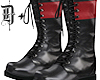 D+. Combat Boots RED