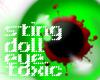 sting doll eye toxic