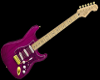 Pink Stratocaster Guitar