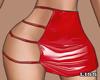 J | Plastic Skirt Red