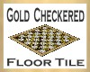 Gold Checkered Tile