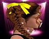 -S- Yellow Hair Ribbons