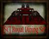 [SC]Royal Dining Set Red