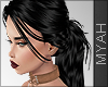 & Ana Hair Bow Black