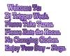 Dj Week Sign