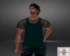 Mens Mesh Shirt/Teal