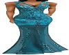 BLUE BEADED GOWN