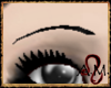 Black Thinner Brows