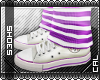 [c] Shoes: Chucks Purple