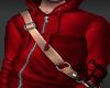 !A red sweatshirt