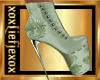 [L] Mint Green Boots F