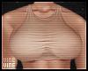 ♔ Nude | Top