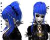Blue punky