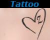 Tattoo Chest Z Heart