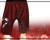 Revenge Red Shorts