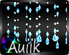 A| Aqua Crystal Beads