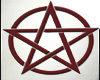 Pentagram Circle Red