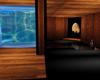waterfall relax room