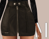 Brown Mini Skirt | L
