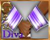 GBunneh Cuffs F W/Purple