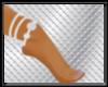 silver spiral anklet
