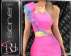 Sasha pink dress
