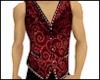 Vintage Vest Red