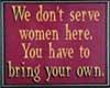 Harley Women Sign