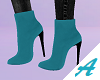 A | Suede Teal Shoes |