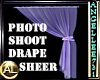 PHOTO SHOOT DRAPE LAV