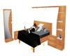 Modern Bed Set Mesh