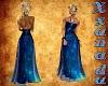 Midnight Blue Gem Gown