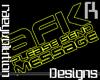 [RD]Unisex AFK Sign