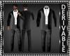 Blazer Suit wBowtie Mesh