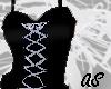 raven corset