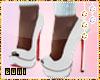 ♔ High heels white #