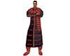 Ram Black Red Sherwani