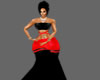 Black/Red Gown XTRA
