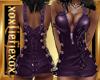 [L]  Deep Purple Dress